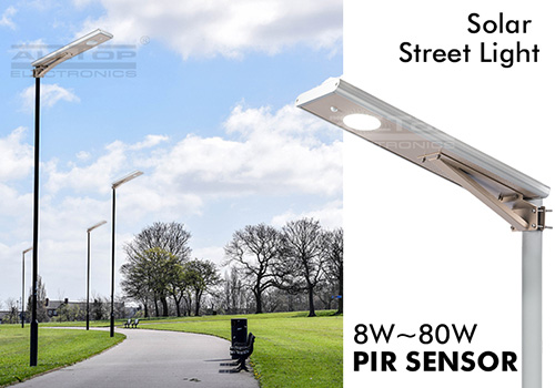 All in One Integrated LED Solar led street light-6