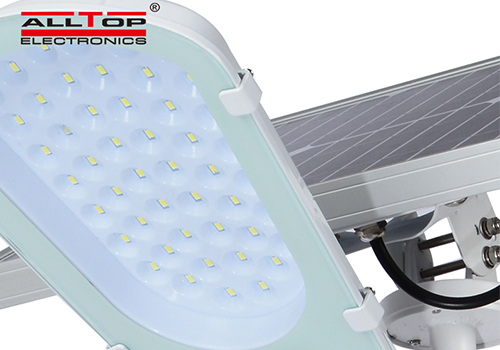 ALLTOP solar led street light shining rightness for lamp-5