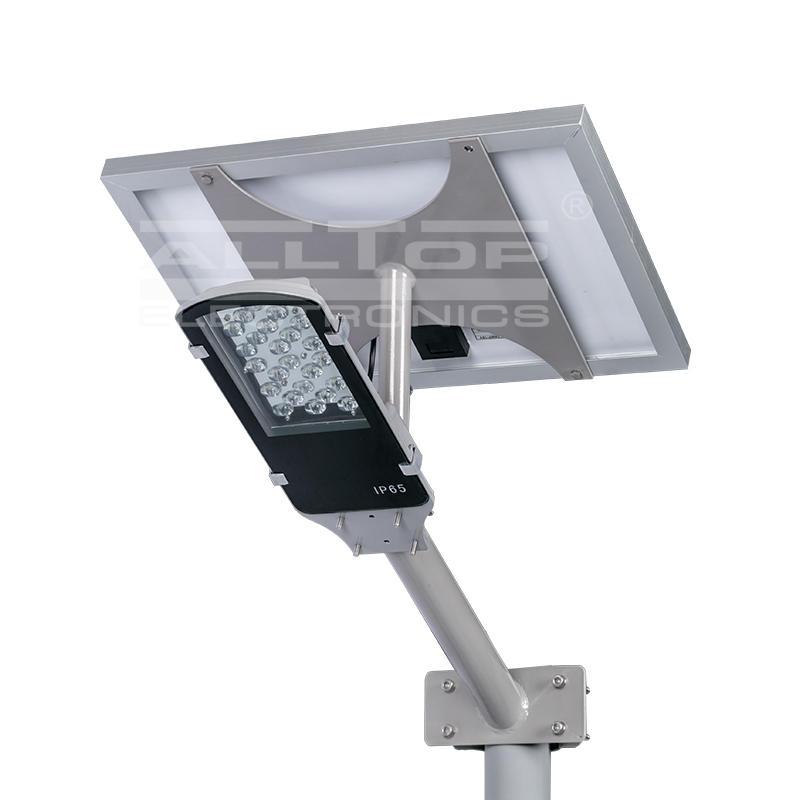 cob list street ALLTOP Brand solar street light manufacturer manufacture