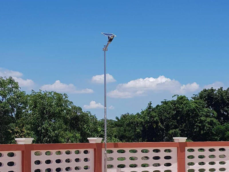 factory price solar led street lamp supplier for outdoor yard