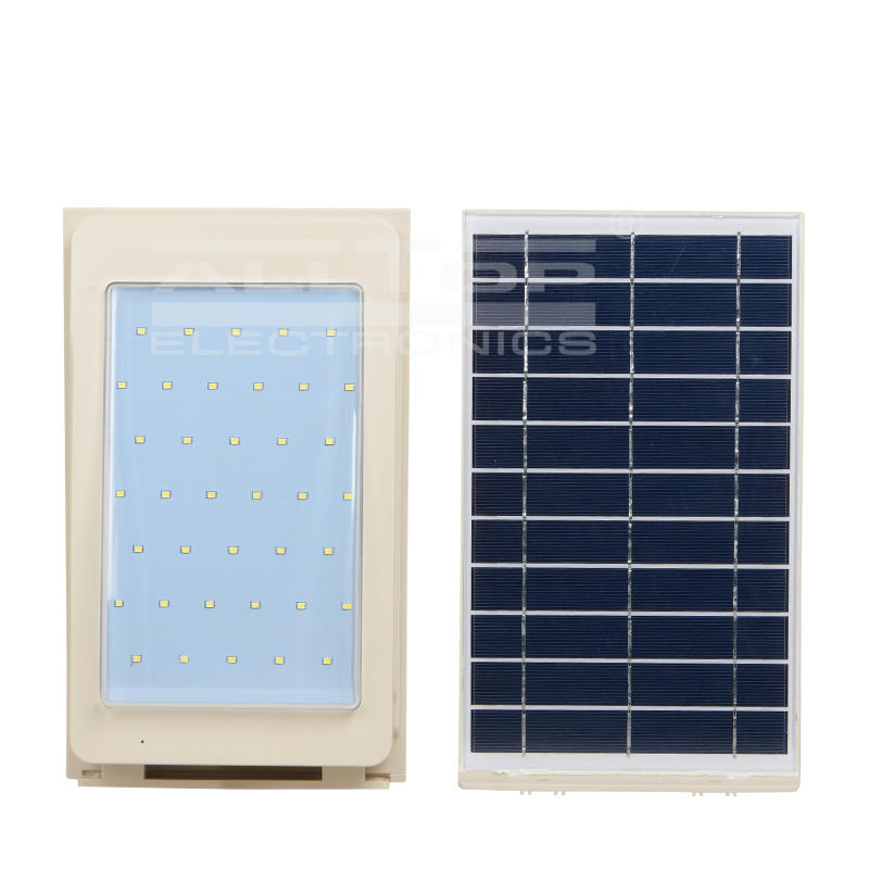 washer solar led wall lamp housing for garden