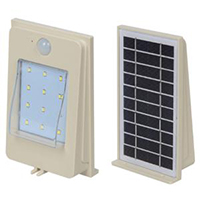 ALLTOP solar pir wall light housing for garden-1
