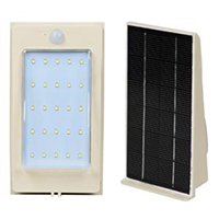 ALLTOP solar pir wall light housing for garden-2