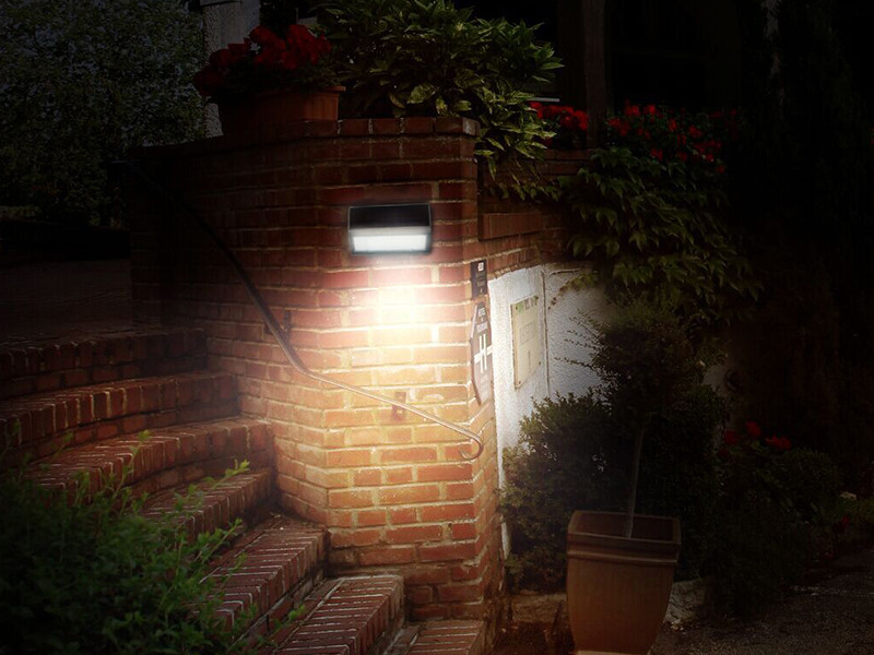 ALLTOP -Solar Wall Lamp Outdoor Waterproof Led Solar Wall Lights-11