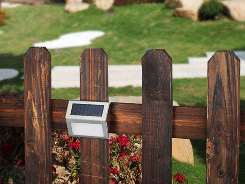 ALLTOP -Solar Wall Sconce Outdoor Waterproof Led Solar Wall Lamp-12