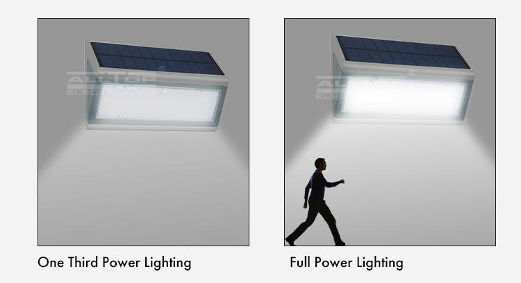 ALLTOP solar wall sconce series for camping