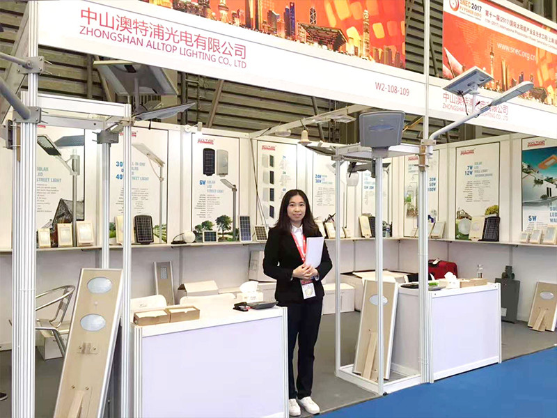 ALLTOP -Shanghai Exhibition News About Solar Torch