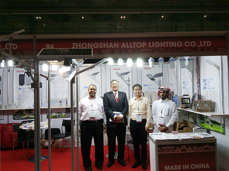 ALLTOP -Made In China 2017 Exhibition In Qatar | Solar Torch