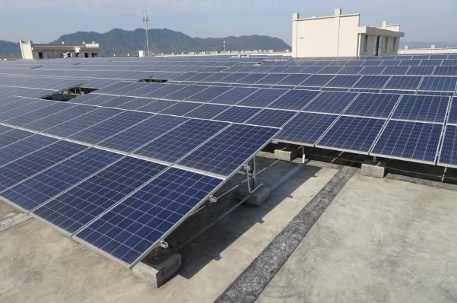 ALLTOP -50kw Ground Distributed Off-grid Photovoltaic Power Generation-1