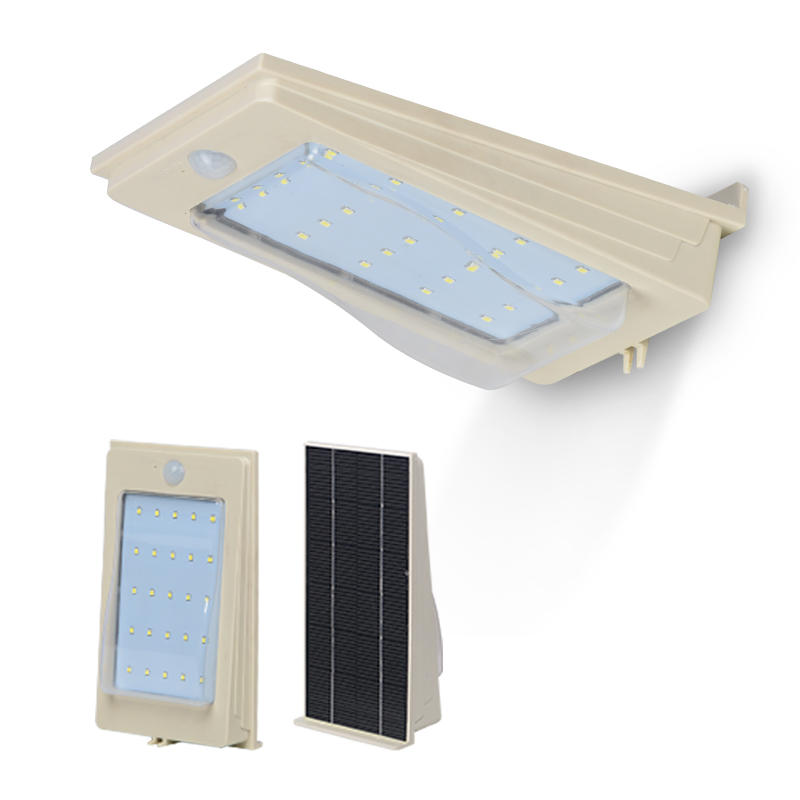 2W 3W 4W 5W waterproof solar led outdoor fancy wall bracket light fixtures