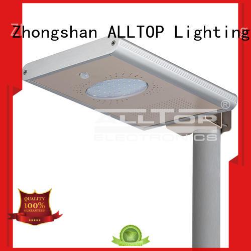 lumen solar street light street led ALLTOP company