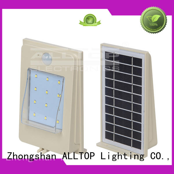 washer solar fence wall lights high quality for street lighting ALLTOP