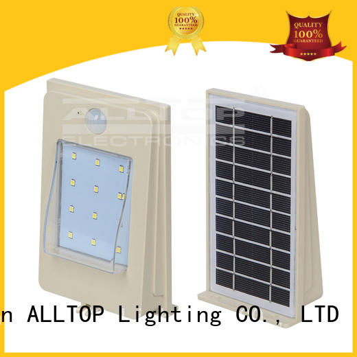 high quality solar led wall pack aluminum highway lighting ALLTOP
