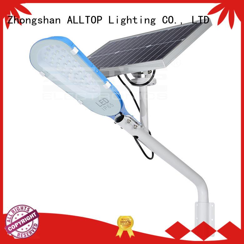 list selling ALLTOP Brand solar street light manufacturer