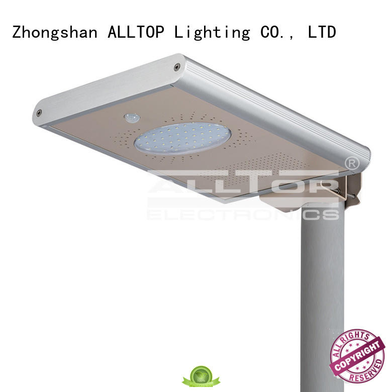 ALLTOP integrated integrated led solar street light sensor for garden