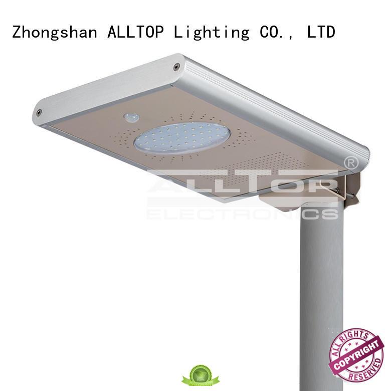 ALLTOP integrated integrated led solar street light sensor for garden