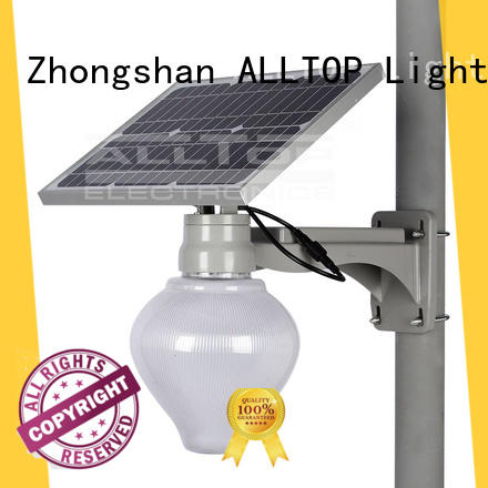 ALLTOP waterproof 120w high quality solar led street light die-casting for landscape