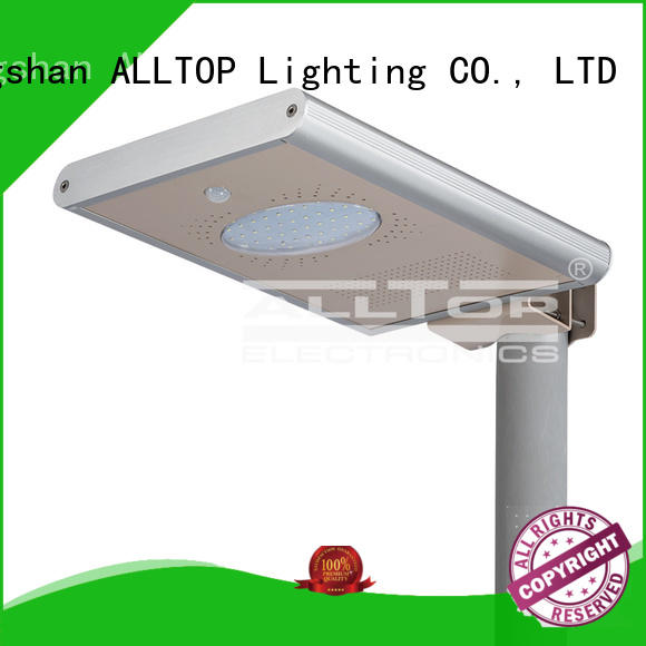 ALLTOP motion integrated street light long lifespan for garden