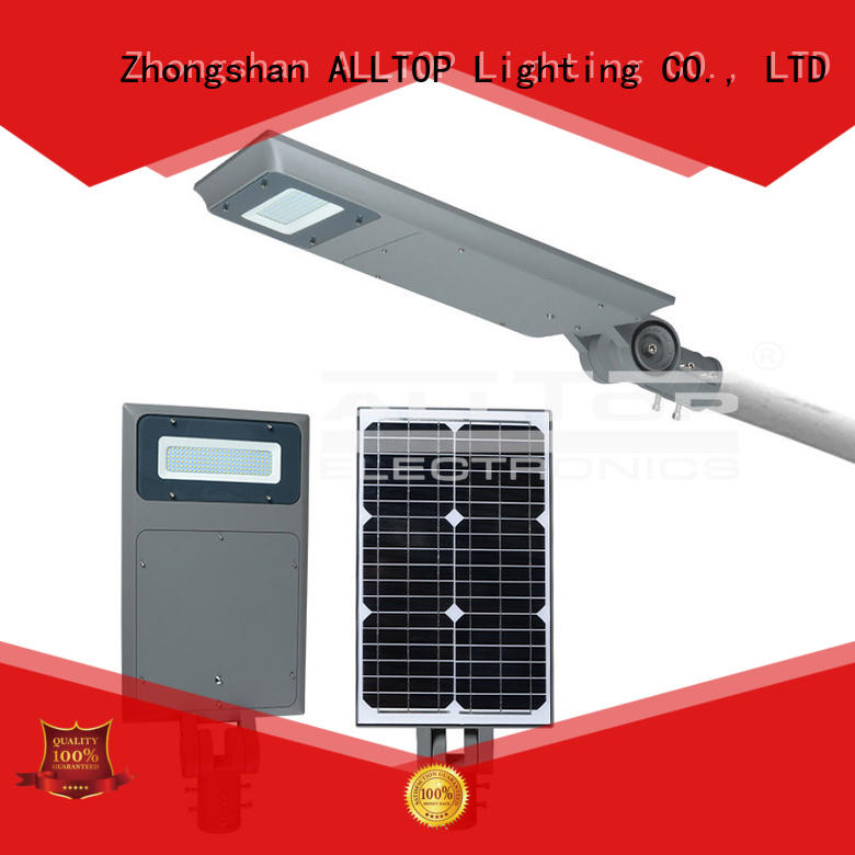 adjust quality integrated ALLTOP Brand all in one solar street lights factory