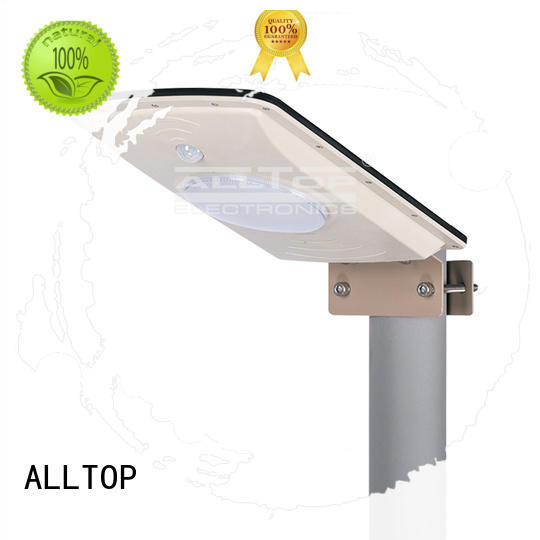 ALLTOP Brand quality sensor lumen all in one solar street lights solar
