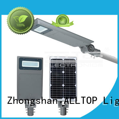 solar motion led all in one solar street lights ALLTOP manufacture