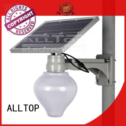 lighting waterproof solar ALLTOP Brand solar street lamp