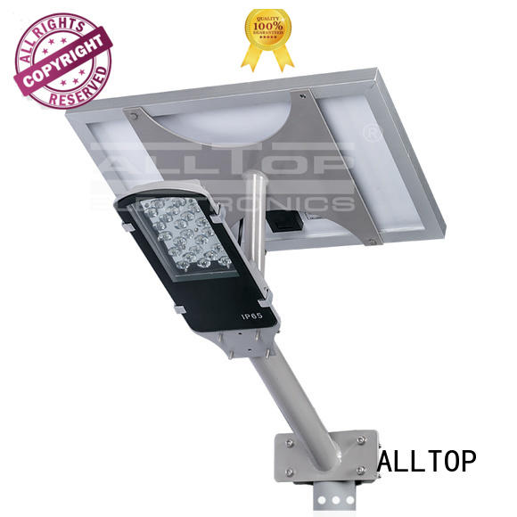 brightness lighting solar street lamp ALLTOP Brand