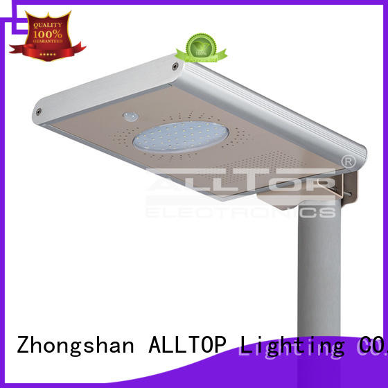 waterproof solar integrated ALLTOP Brand all in one solar street lights manufacture