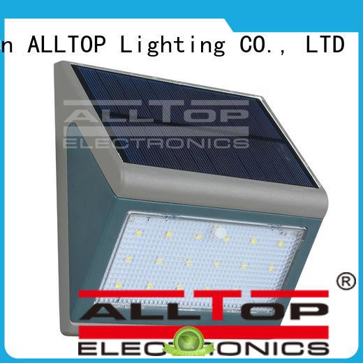 led aluminum garden solar wall lantern ALLTOP Brand