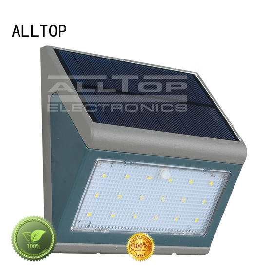 aluminum solar wall lamp high quality for camping ALLTOP