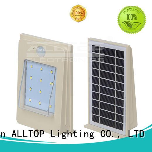 solar street light manufacturer solar aluminum ALLTOP Brand company