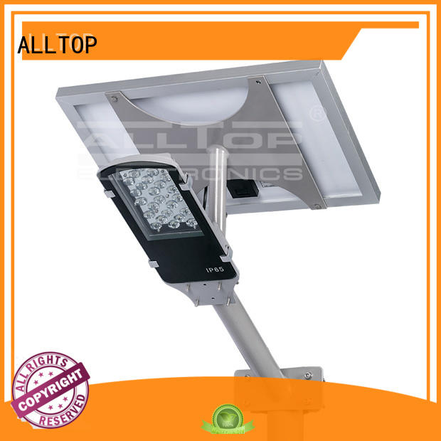 solar street light manufacturer light street aluminum ALLTOP Brand