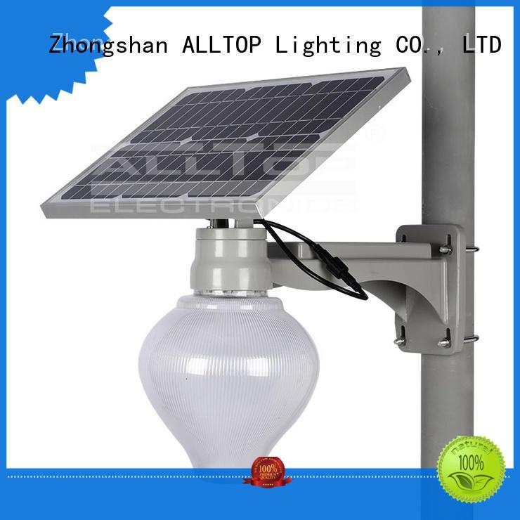 die-casting solar street lamp latest design for lamp ALLTOP