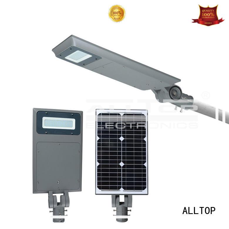 solar outdoor sensor all in one solar street lights ALLTOP manufacture