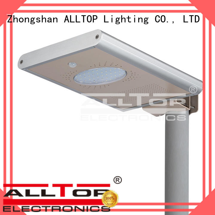 garden all in one solar street lights waterproof ALLTOP company