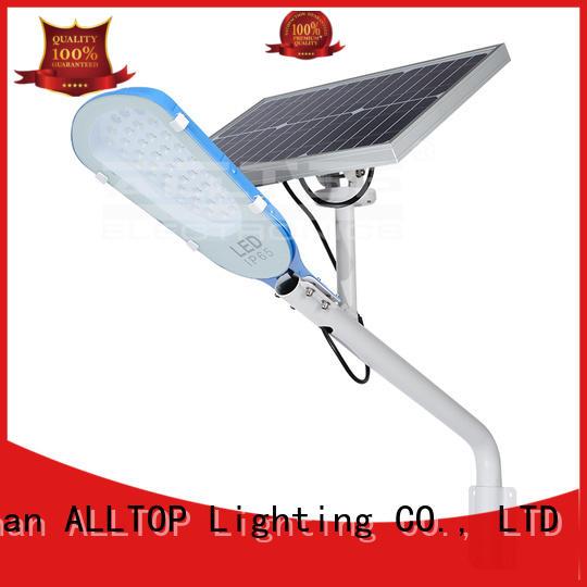 brightness list aluminum OEM solar street lamp ALLTOP