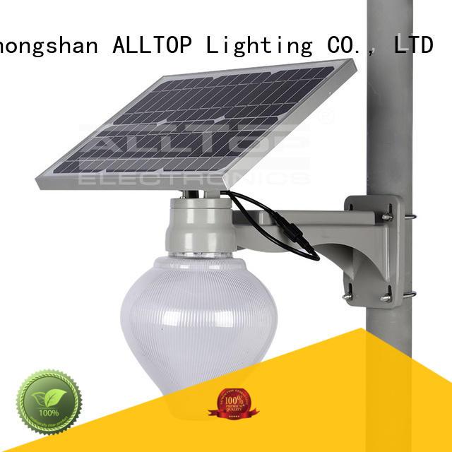 die-casting solar street lamp aluminum for playground