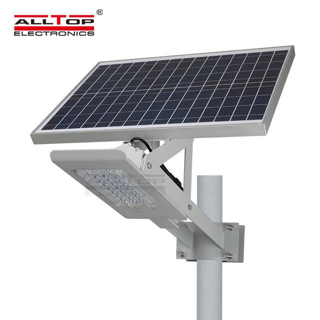ALLTOP waterproof 20w solar street light series for outdoor yard
