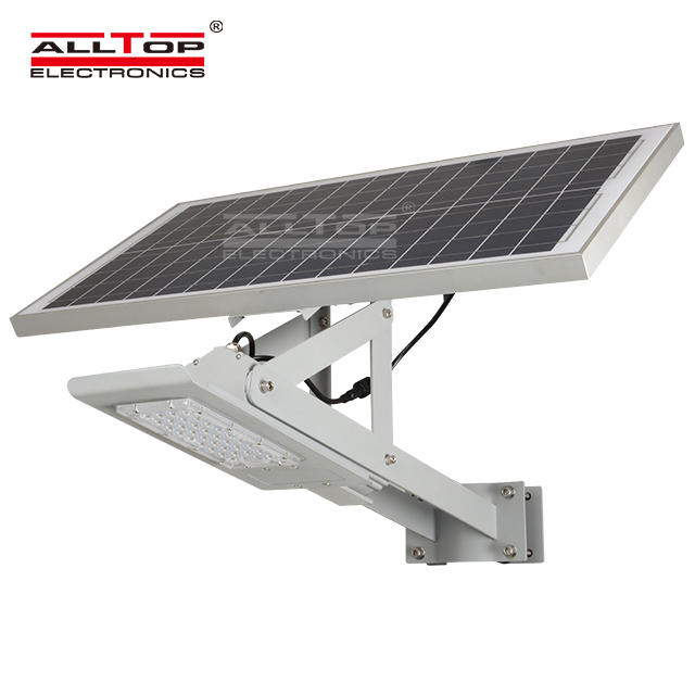 High brightness aluminum outdoor IP67 waterproof 24w 36w led solar street lighting