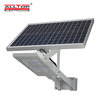 ALLTOP -High-quality 20w Solar Street Light | High Brightness Aluminum Outdoor