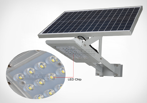 ALLTOP -High-quality 20w Solar Street Light | High Brightness Aluminum Outdoor-3