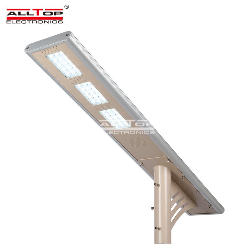 ALLTOP -Outdoor waterproof IP65 all in one integrated 30w 45w 60w solar led street light