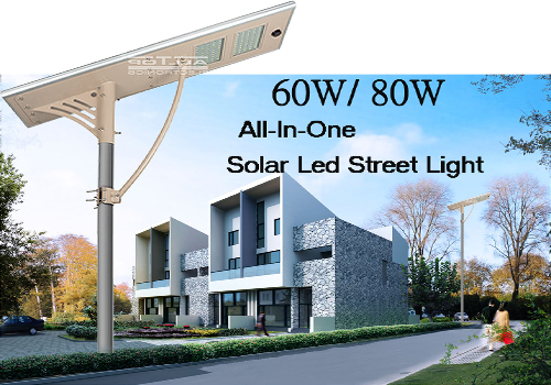 ALLTOP -High Lumen Ip66 Motion Sensor Outdoor Solar Led Street Light 60w Price-2
