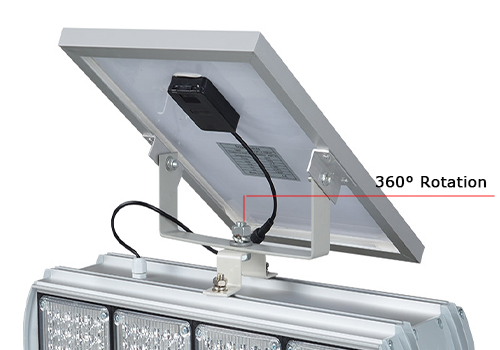 double side solar traffic light led for security-12