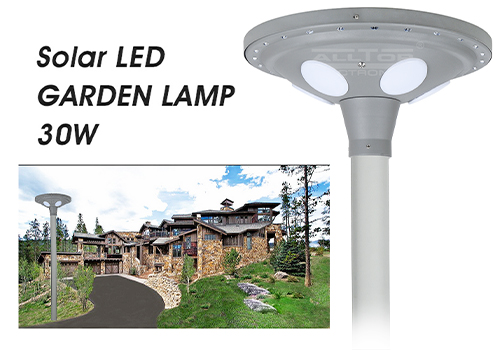 ALLTOP -Best Solar Yard Lights Outdoor All In One 30 W Solar Led Light-1