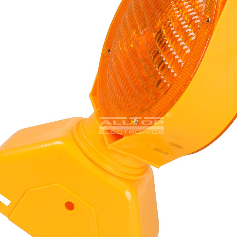 ALLTOP -Solar Traffic Light, Portable 06w Double Sided Barricade Signal Solar-2