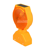 ALLTOP -Solar Traffic Signal Portable Double Sided Solar Led Warning Light