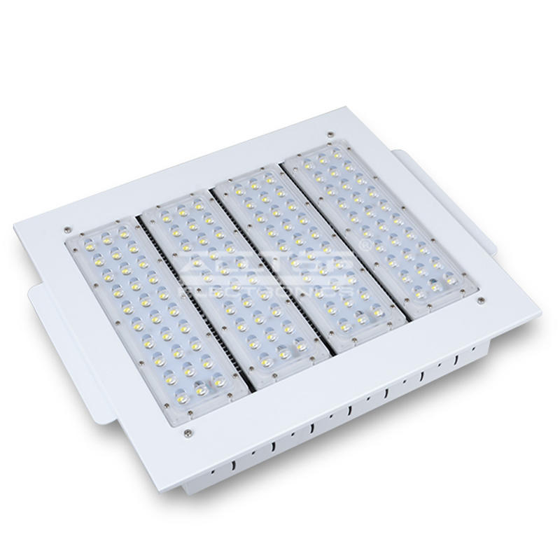 High lumen outdoor IP65 Aluminum led gas canopy light 100W