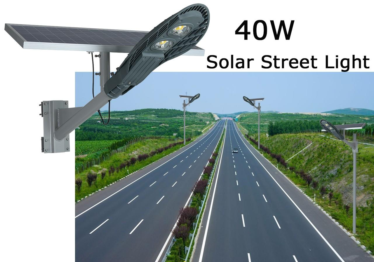energy-saving 20w solar street light aluminum for outdoor yard