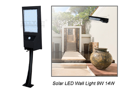 solar pir wall light portable for concert ALLTOP-3
